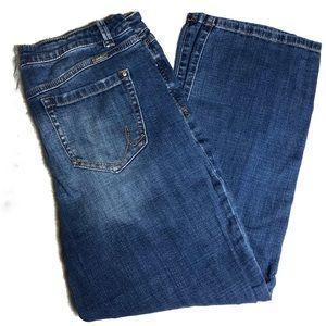 Inc Denim Jeans Size 12 Straight Leg Crop Jeans